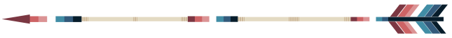 Arrow Divider - Nebularomantic, Left