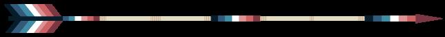 Arrow Divider - Nebularomantic, Right