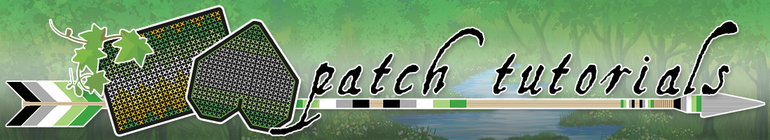 Banner Link: Pride Patch Tutorial Series